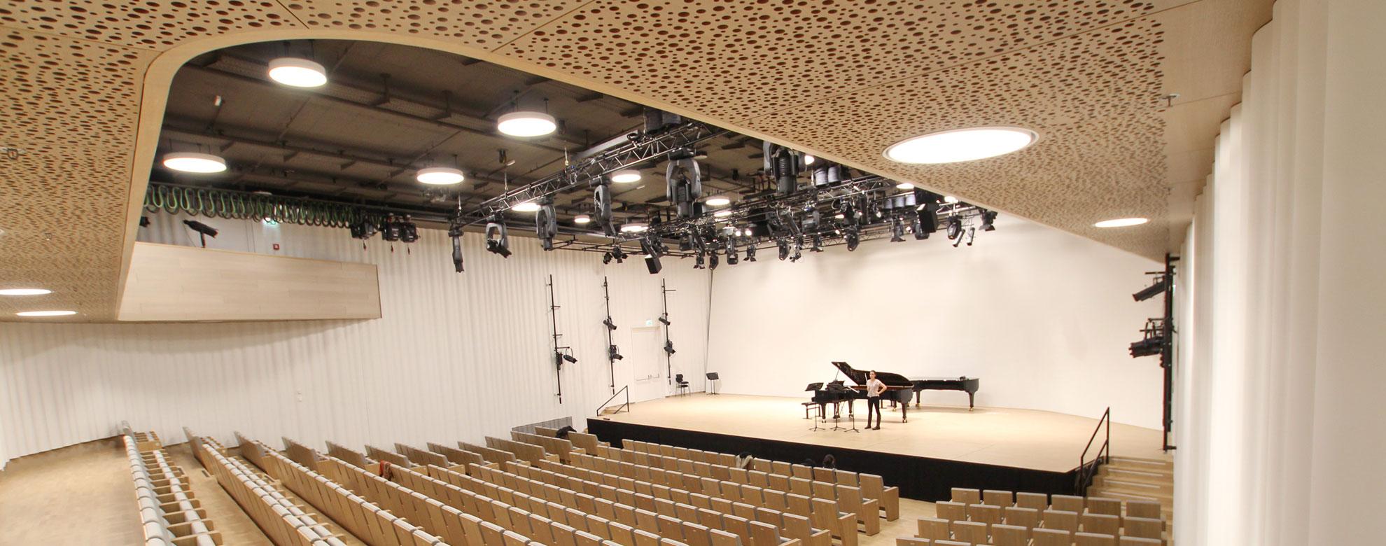 Veranstaltungssaal-Akustik